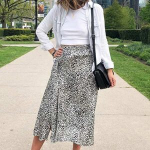 Casual Long Skirt and Top