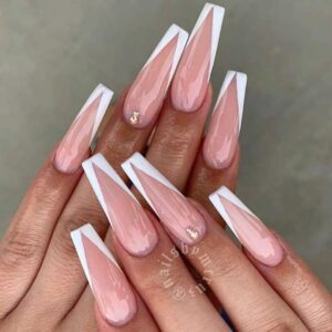 V-Tipped Coffin Nails
